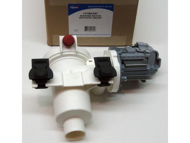 LP-280187 Washer Pump Motor for Whirlpool Kenmore Duet Washing AP3953640 photo