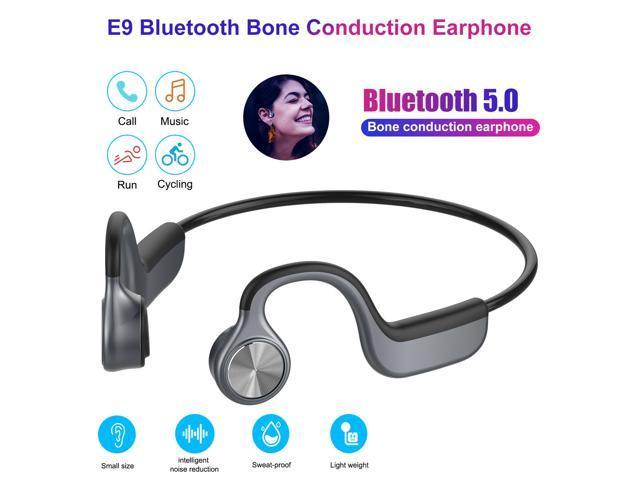 Bluetooth 5.0 Bone Conduction Headphone Wireless Sport Handsfree Open-Ear Earbud photo