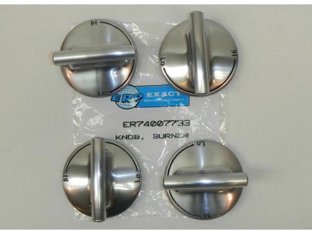 74007733-4 PACK Burner Knob for Jenn Air Gas Range Cooktop PS2375871 AP5668987 photo