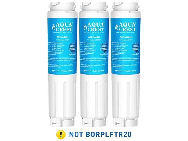 9000 077104 UltraClarity REPLFLTR10 Refrigerator Water Filter Replacement for Bosch Ultra Clarity 9000194412, 644845, B26FT70SNS, B22CS80SNS. photo