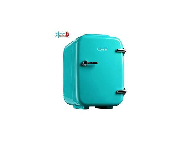 Mini Fridge Cooler and Warmer, (4Liter / 6Can) Portable Compact Personal Fridge, AC/DC Thermoelectric System, 100% Freon-Free Eco Friendly for. photo