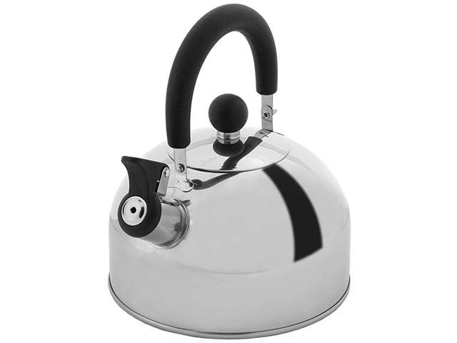 2 Quart Stainless Steel Whistling Tea Kettle, the Perfect Stovetop Tea and Water Boilers for Your Home, Dorm, Condo or Apartment. (Home & Garden Kitchen & Dining Tableware Drinkware) photo