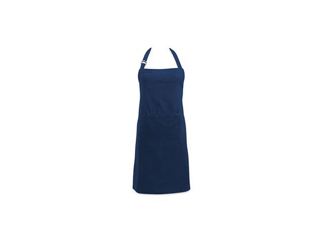 Adjustable Neck & Waist Ties with Front Pocket, 32x28 Apron Chino Chef Collection, Nautical Blue photo