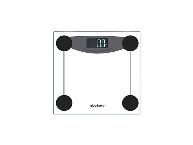 Digital Body Weight Bathroom Scale, Weighing Scale with Step-On Technology, LCD Backlit Display, 400 lbs Accurate Weight Measurements, Black (Health & Beauty Health Care Biometric Monitors Body Weight Scales) photo