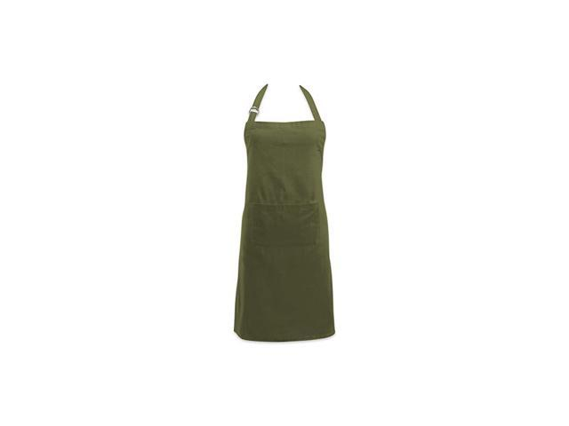 Adjustable Neck & Waist Ties with Front Pocket, 32x28 Apron Chino Chef Collection, Sage photo