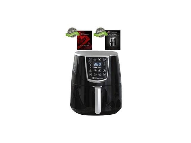 Air Fryer XL - High Power Oven Kitchen Appliances-Best Seller Large Air Fryer 5 Qt Digital Display with 8 Pre-Set Functions, 5 quart, Black photo