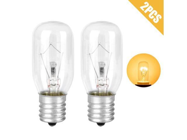 4/2PCS Light Bulb Lamp for Whirlpool Microwave E17Base 125V 40W Replacement Part photo