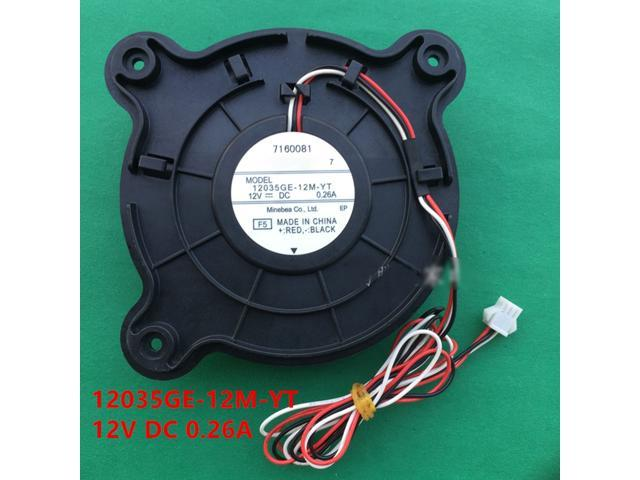 Cooling Fan for Haier Refrigerator Cooling Fan NMB12035GE-12M-YT 12V DC 0.26A photo