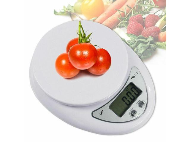 11lb x 1g Digital Kitchen Scale Food Electronic Gram Scales Postal Diet Cooking photo