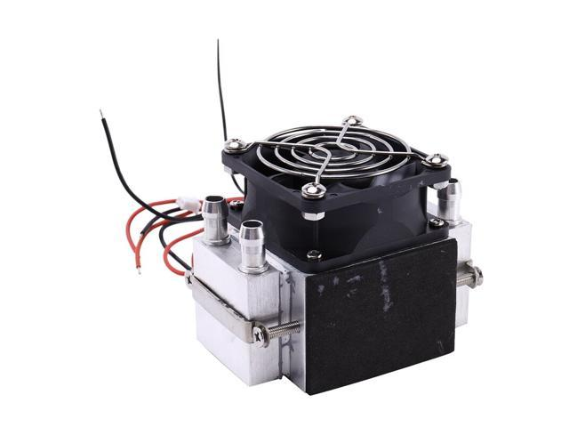 DC12V 108W Semiconductor Electronic Peltier Refrigeration Cold Space Small Air Conditioner Water Cooling Radiator photo