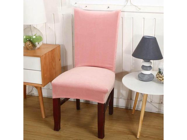 Ultra-soft Faye velvet thickened plus velvet warm chair cover fabric stool cover elastic chair back cover chair cover seat cover # 10 - ten (Home & Garden Decor) photo