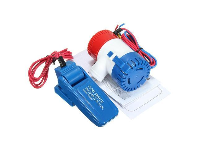 1100 GPH 12V Submersible Marine Boat Bilge Water Pump With Float Switch - photo