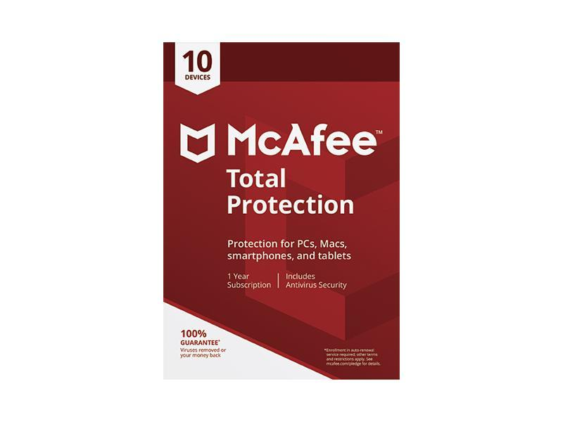 McAfee Internet Security 1 Device key Card for Latest 2019 Digital Download Only