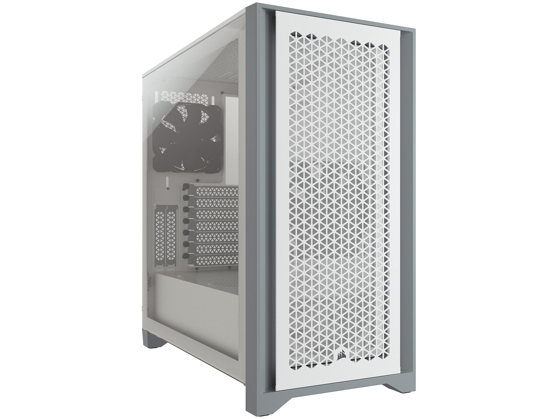 Corsair 4000D Airflow Tempered Glass ATX Mid Tower Computer Case, CC-9011201-WW