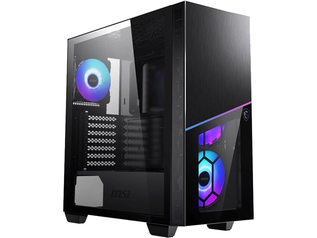 MSI MPG SEKIRA 100R Tempered Glass ATX Mid Tower Gaming Case