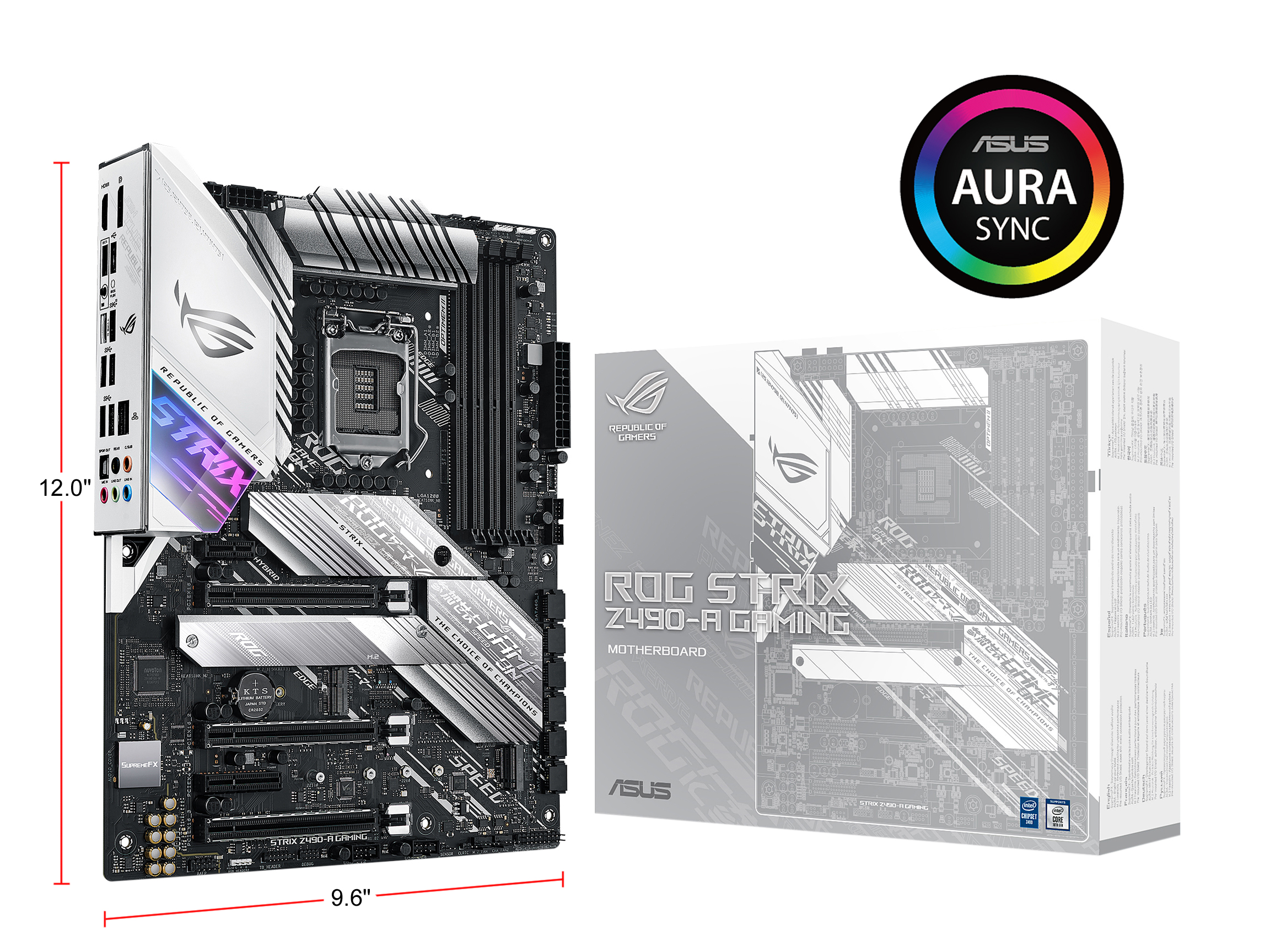 ASUS ROG STRIX Z490-A GAMING Motherboard