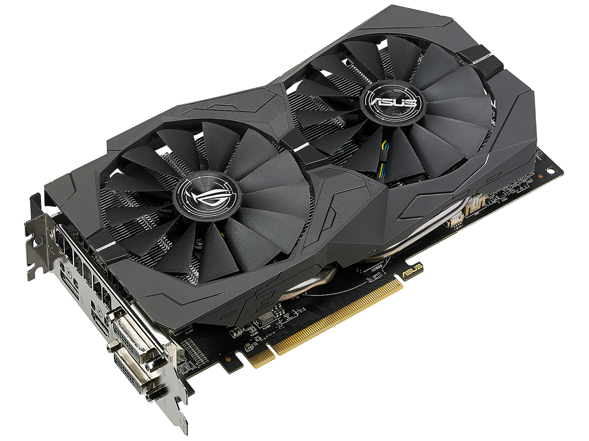 ASUS ROG Strix Radeon RX 570 OC Edition Graphics Card