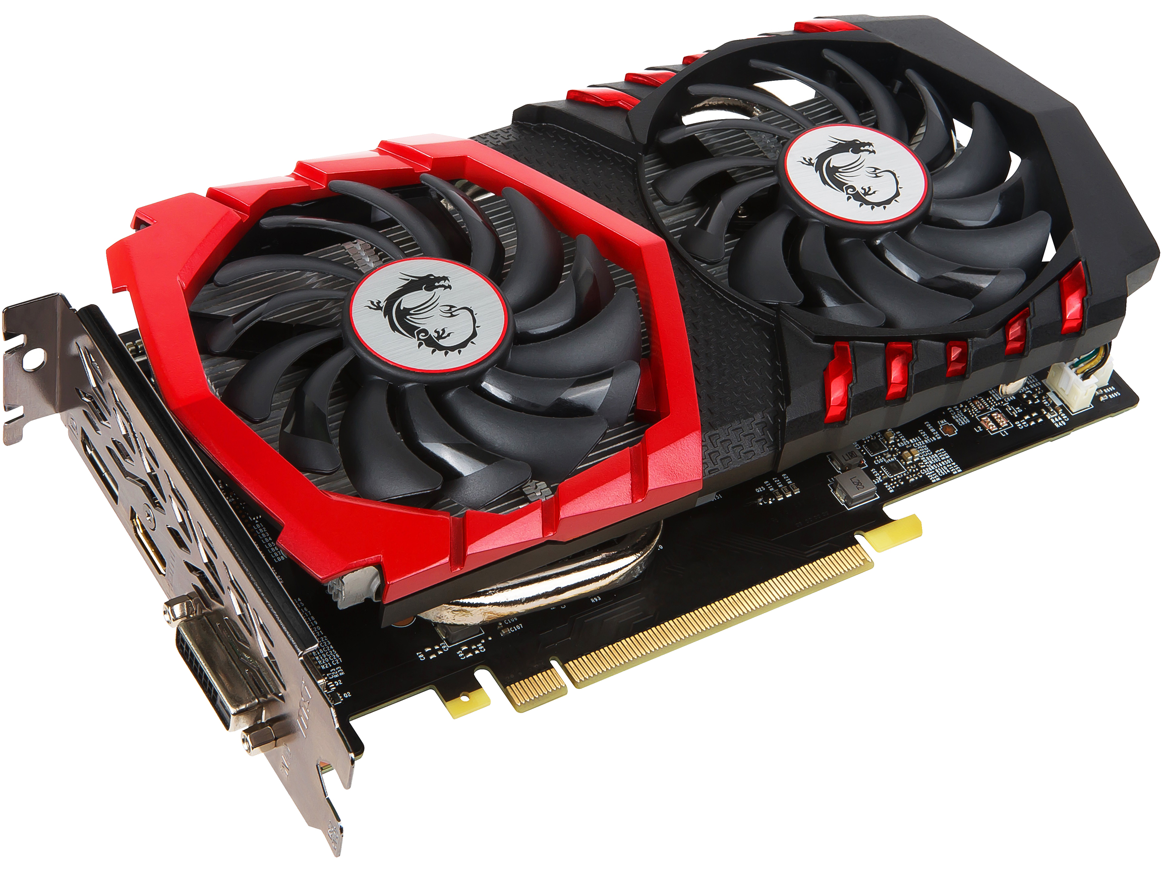 MSI GeForce GTX 1050 Ti GAMING X Graphics Card