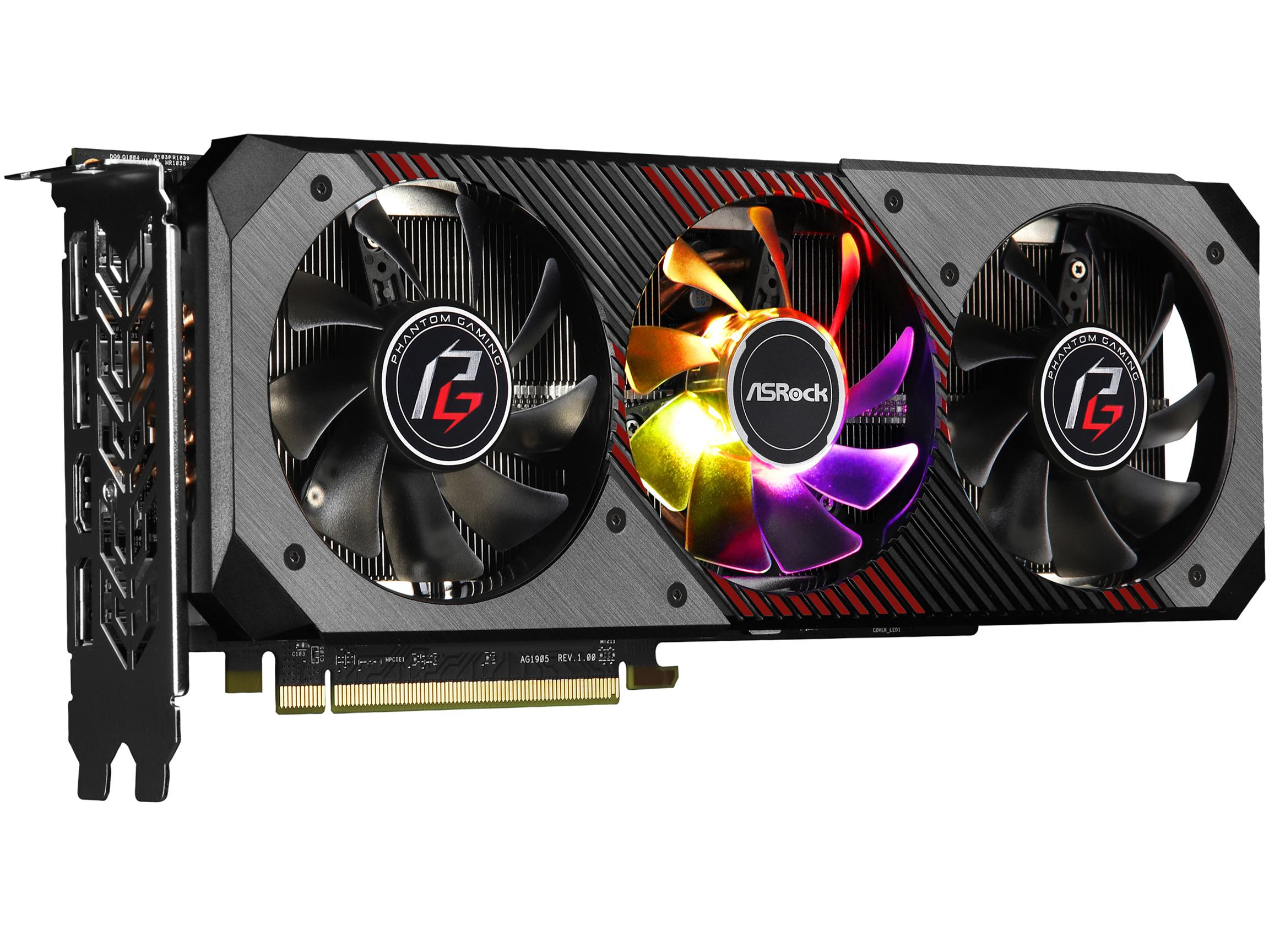 ASRock Phantom Gaming D Radeon RX 5700 XT 8G OC Graphics Card