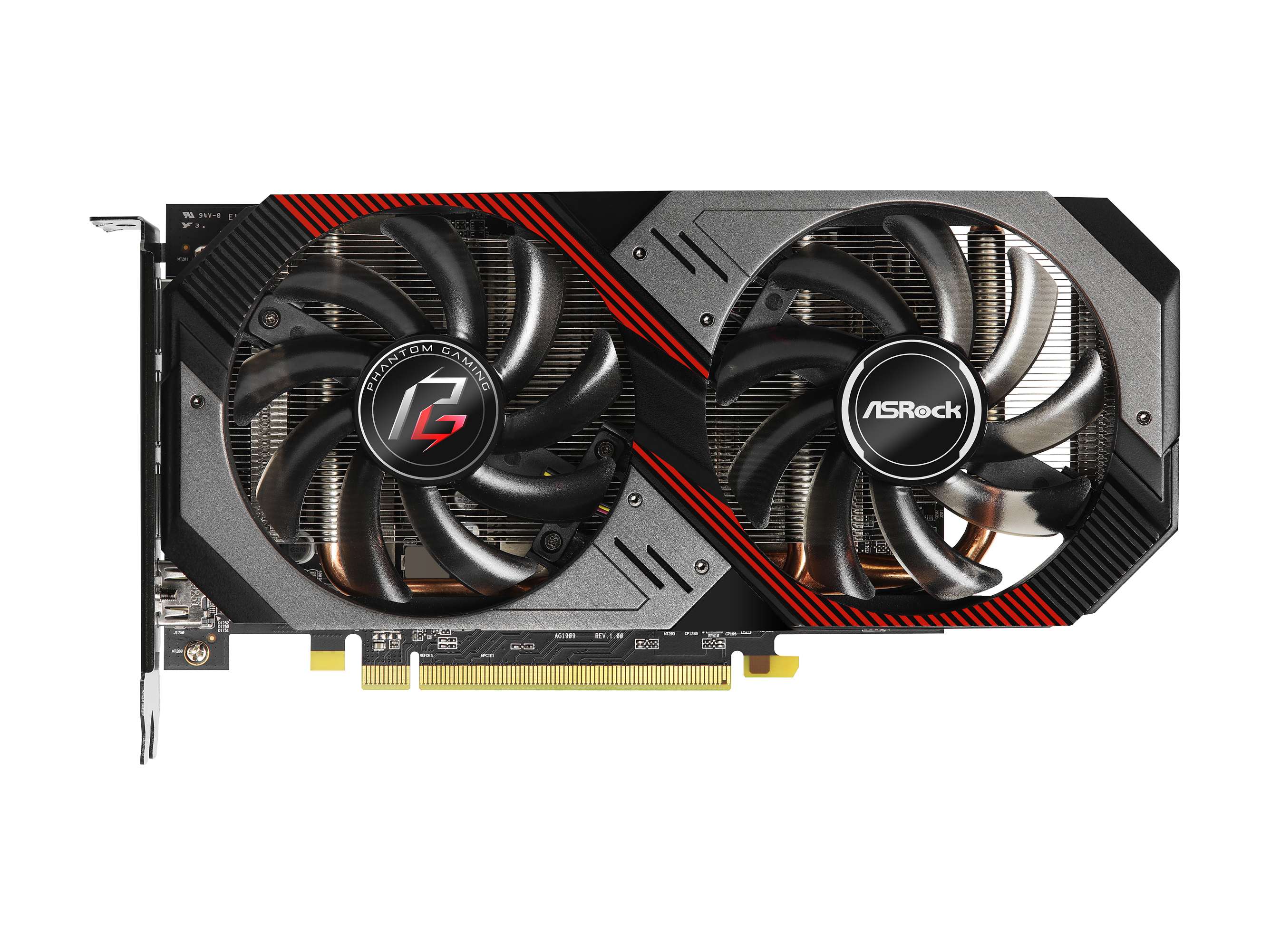 ASRock Phantom Gaming D Radeon RX 5500 XT Graphics Card