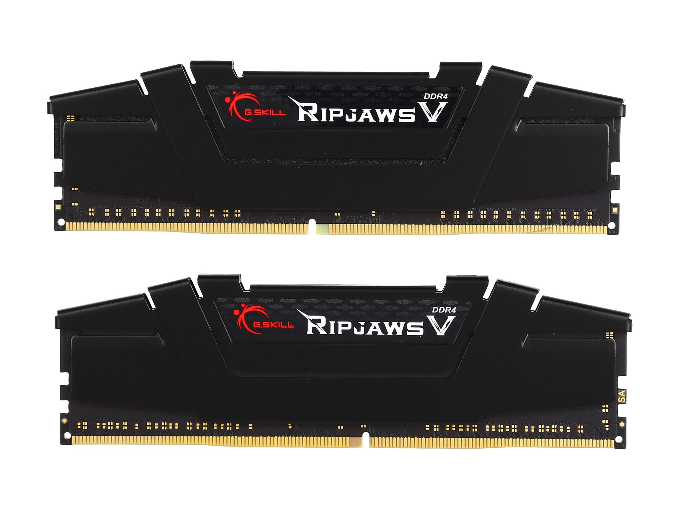G.SKILL Ripjaws V Series 16GB (2 x 8GB) 288-Pin DDR4 SDRAM DDR4 3200 Memory F4-3200C16D-16GVKB