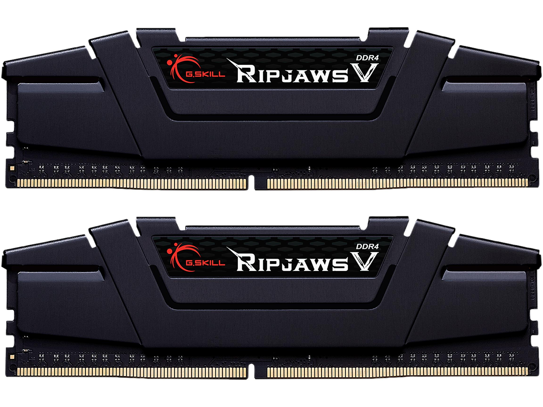 G.SKILL Ripjaws V Series 32GB (2 x 16GB) 288-Pin DDR4 SDRAM DDR4 3600 Intel XMP 2.0 Memory F4-3600C16D-32GVKC