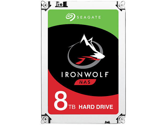"Seagate IronWolf 8TB NAS Hard Drive 7200 RPM 256MB Cache SATA 6.0Gb/s CMR 3.5"" Internal HDD ST8000VN0022"