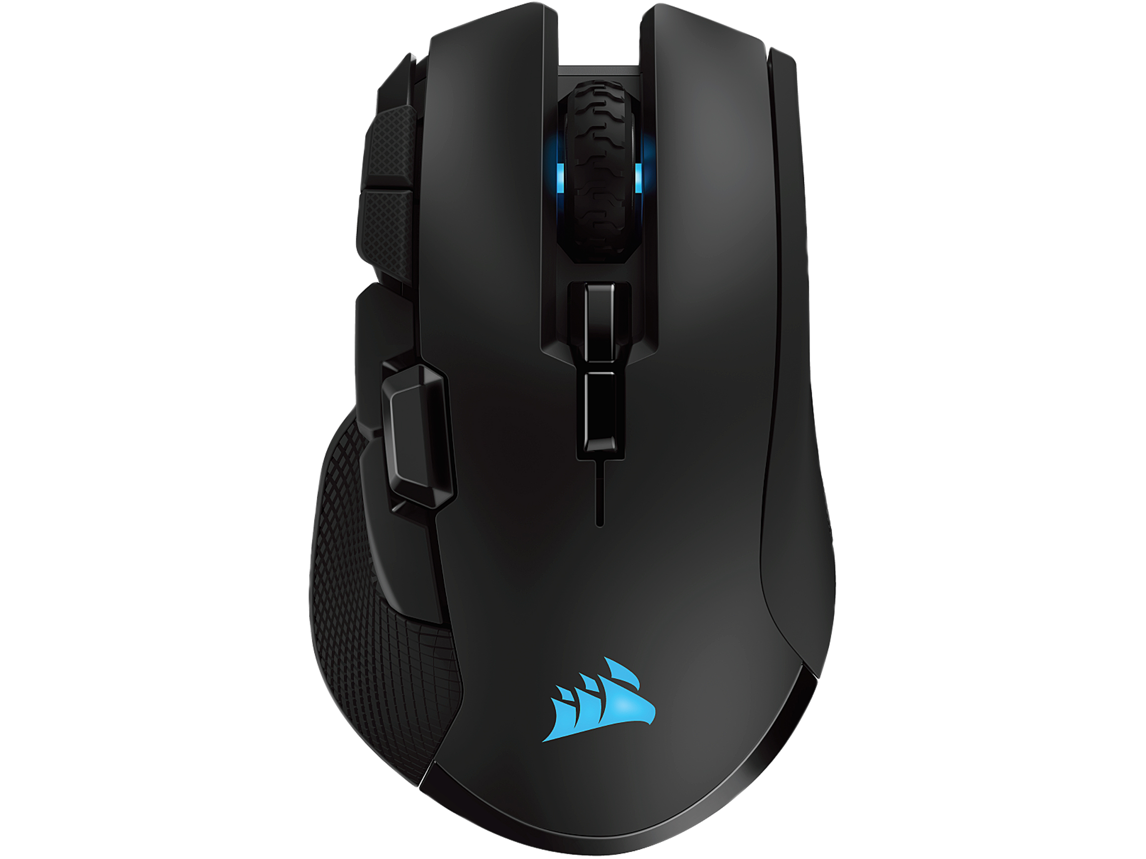Corsair IRONCLAW RGB Wireless Rechargeable Gaming Mouse - Black