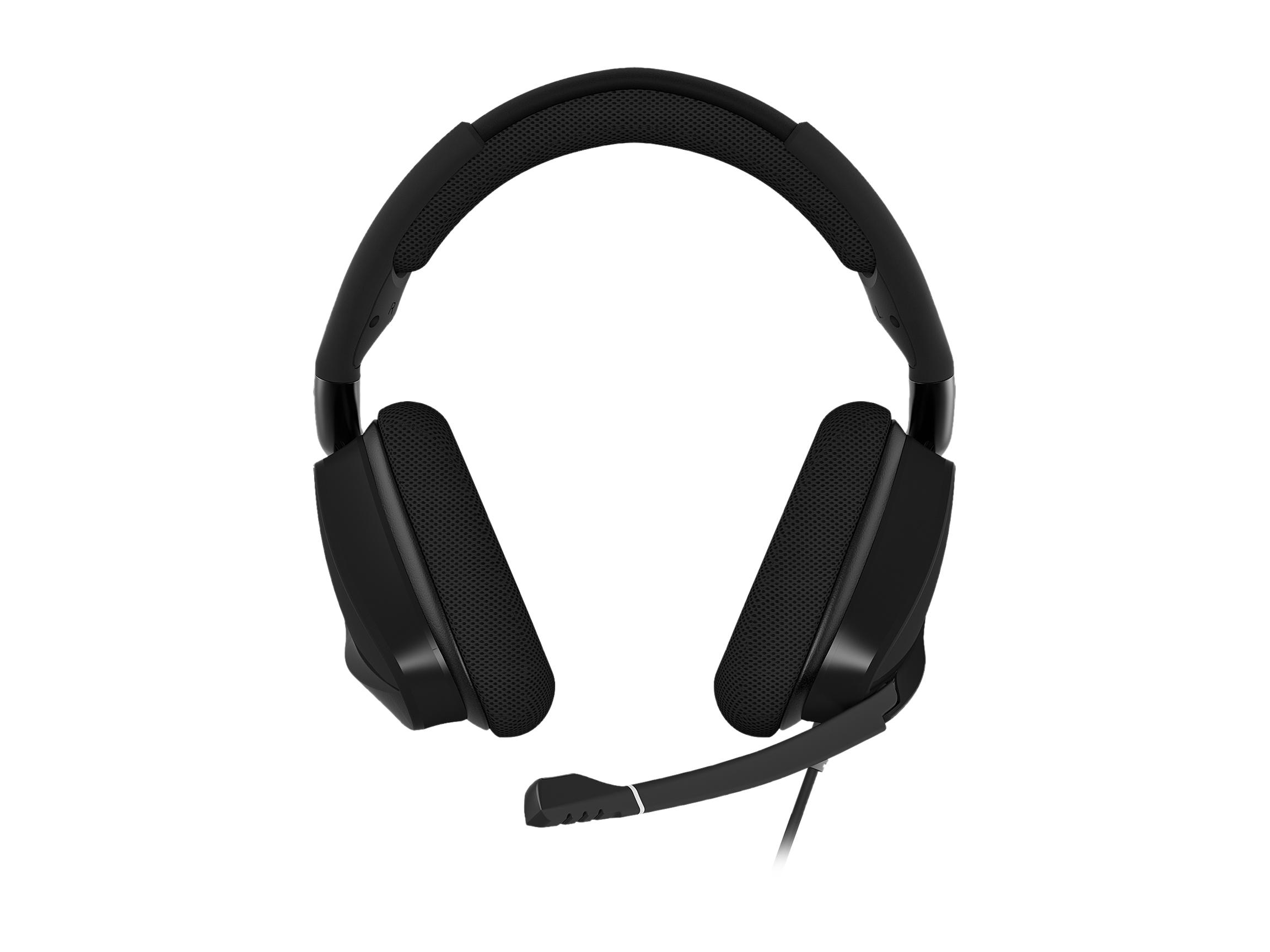 Corsair VOID RGB ELITE USB Connector Circumaural Premium Gaming Headset with 7.1 Surround Sound - Carbon