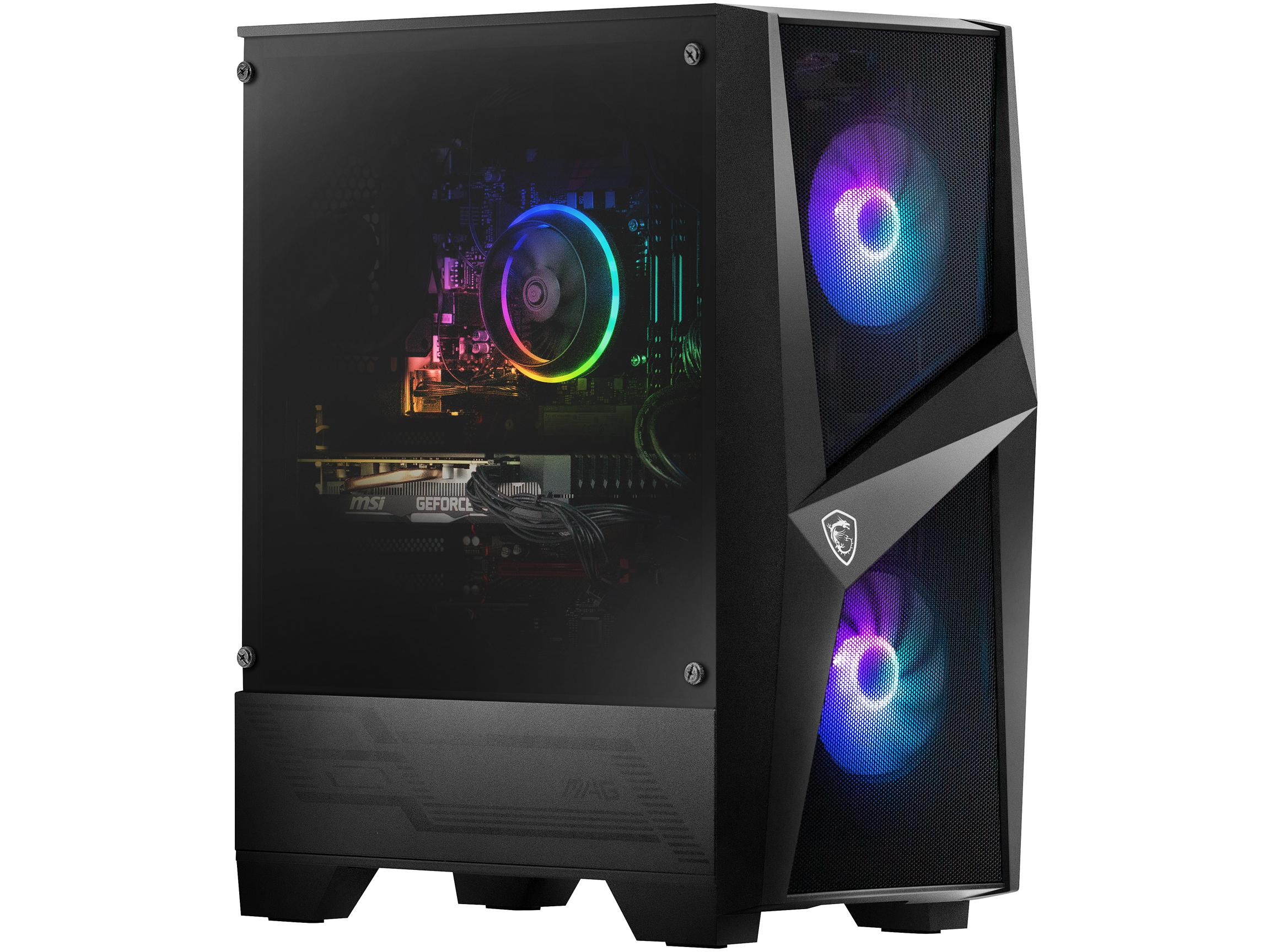 MSI Codex R Intel Core i5-10400F NVIDIA GeForce RTX 2060 16GB DDR4 512GB SSD Win 10 Home Gaming Desktop, 10SC-004CA