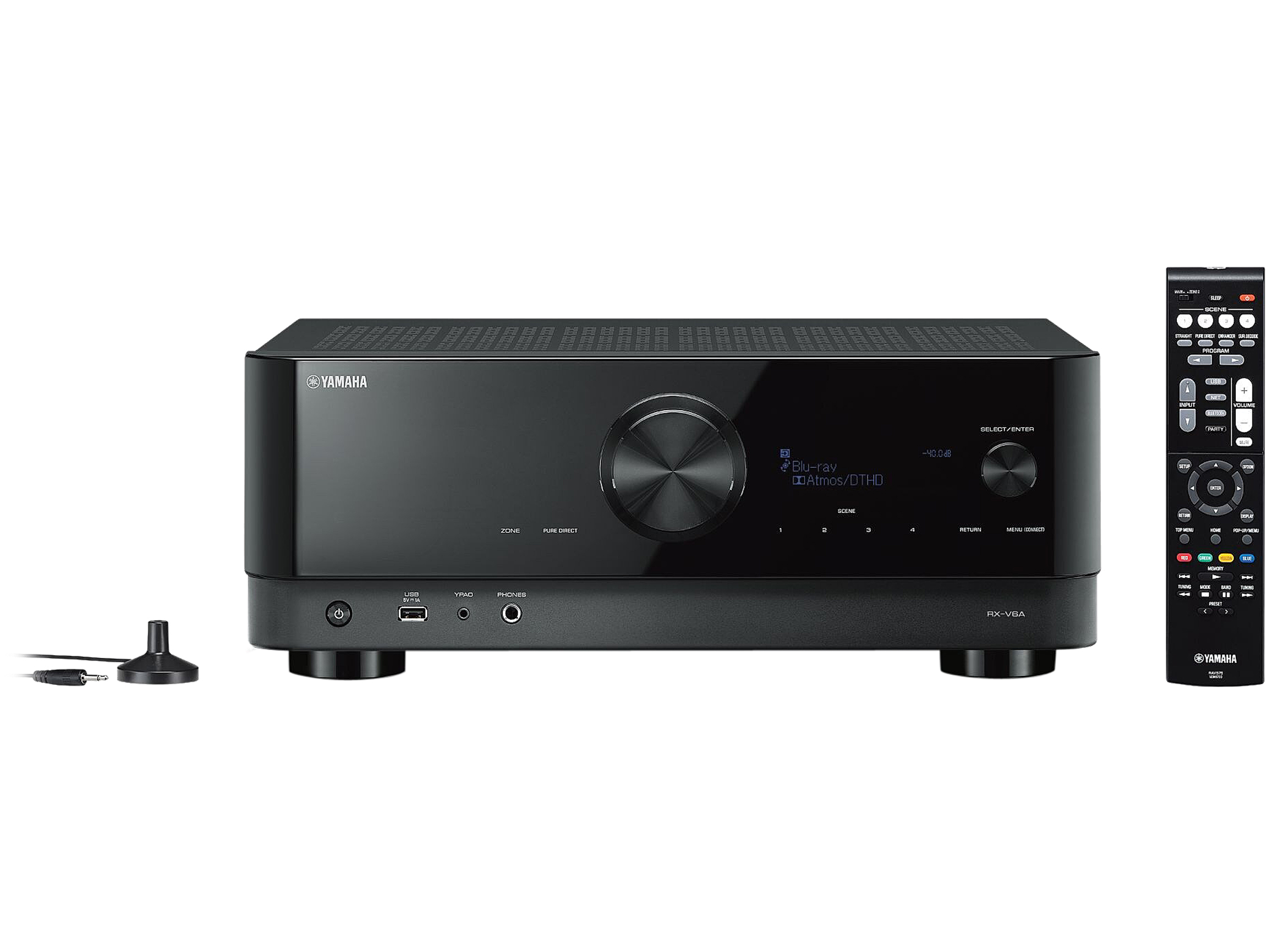 YAMAHA RX-V6A 7.2-Channel AV Receiver with 8K HDMI