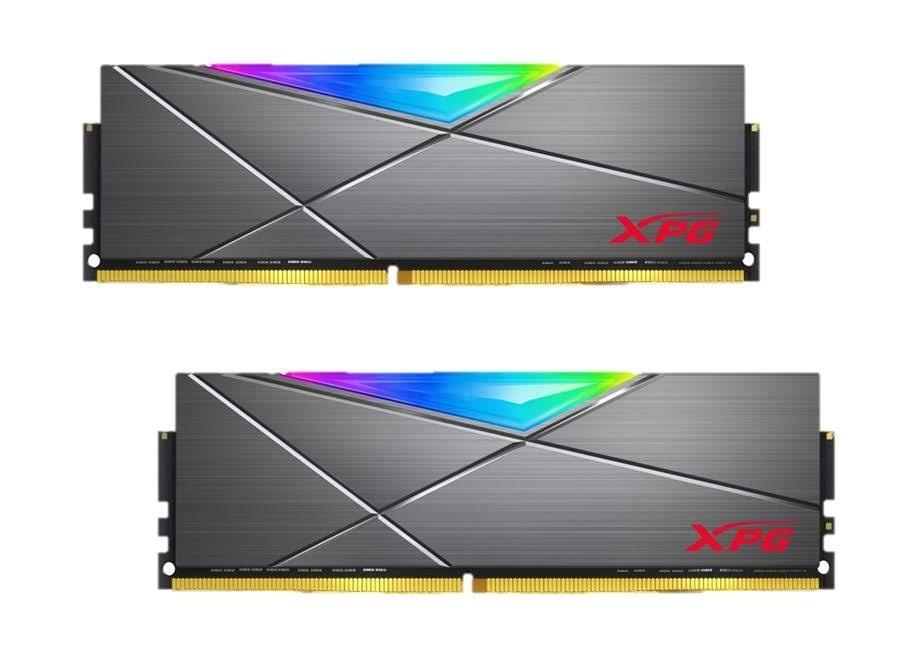 XPG Spectrix DT50 RGB 32GB (2 x 16GB) 288-Pin DDR4 3200 CL16 AX4U3200716G16A-DT50