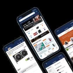 Newegg apps screenshot
