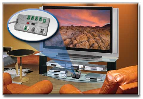 Advanced Protection for Desktops, Peripherals and A/V Components