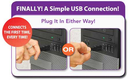 Plug It In Either Way!