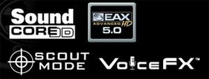 Creative® Sound Core3D™ Quad-Core Audio Processor