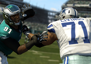 Playstation version of Madden NFL 25