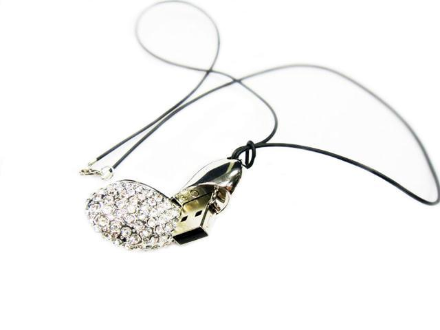 Sharp Design Crystal Charm USB-4GB