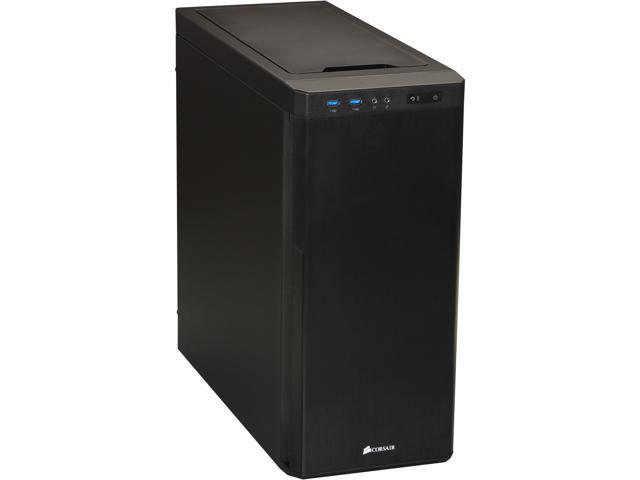 Corsair Carbide Series 330R (CC-9011024-WW) Black Steel / Plastic ATX Mid Tower Quiet Computer Case