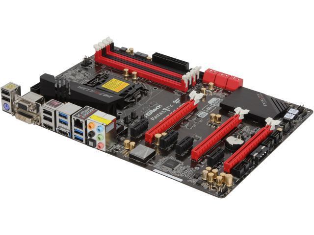 ASRock Fatal1ty Z87 Killer LGA 1150 Intel Z87 HDMI SATA 6Gb/s USB 3.0 ATX Intel Motherboard