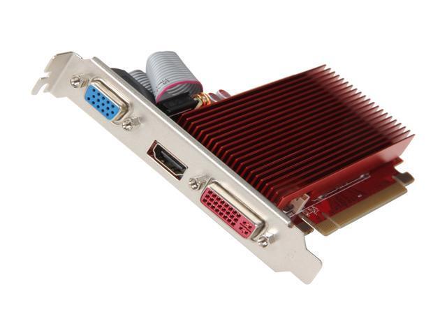 DIAMOND 6450PE31GSS Radeon HD 6450 1GB 64-bit GDDR3 PCI Express 2.1 x16 HDCP Ready Video Card