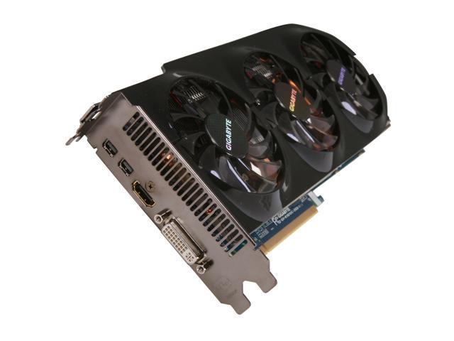 GIGABYTE GV-R787OC-2GD Radeon HD 7870 GHz Edition 2GB 256-bit GDDR5 PCI Express 3.0 x16 HDCP Ready CrossFireX Support Video Card