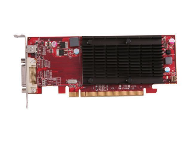 Visiontek Radeon 6350 SFF 1GB DDR3 3M DMS59 (2 x DVI-I, miniDP) w/ 2 x DVI-I to VGA Adapter, 900456