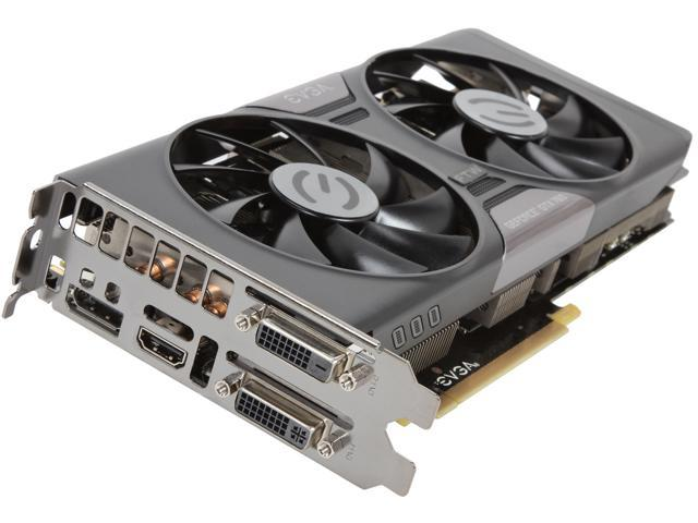 EVGA 04G-P4-3768-KR GeForce GTX 760 FTW 4GB 256-bit GDDR5 PCI Express 3.0 SLI Support Video Card w/ EVGA ACX Cooler