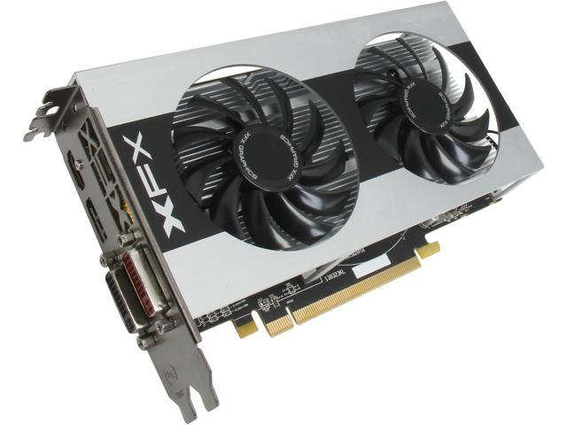 XFX Double Dissipation R7-260X-CDF4 Radeon R7 260X 2GB 128-Bit GDDR5 PCI Express 3.0 x16 HDCP Ready CrossFireX Support Video Card
