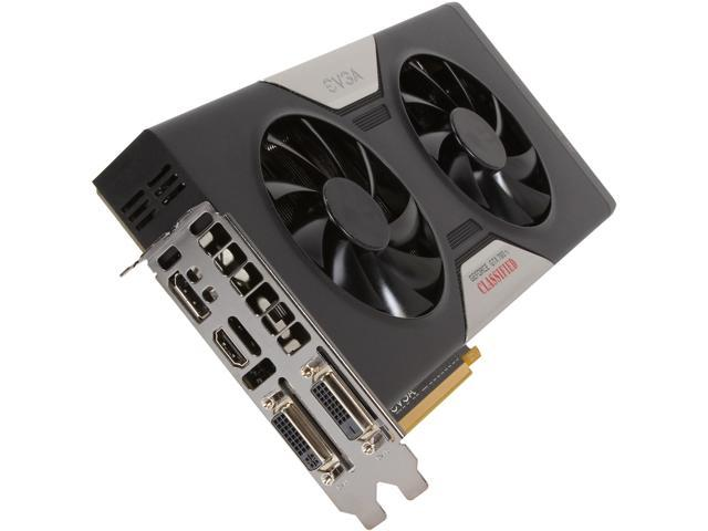 EVGA 03G-P4-2888-KR GeForce GTX 780 Ti Dual Classified w/ EVGA ACX Cooler 3GB 384-bit GDDR5 PCI Express 3.0 SLI Support Video Card