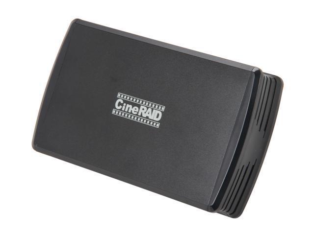 CineRAID CR-H212 RAID 0/1/JBOD/Normal USB 3.0 Dual Bay RAID/JBOD Enclosure