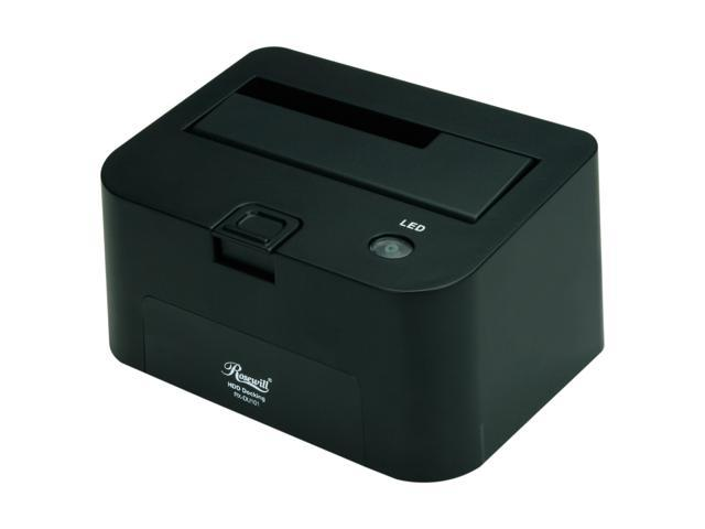 Rosewill RX-DU101 Plastic 2.5 inch & 3.5 inch Black USB 2.0 Docking Station  +  Rosewill RHB-220 4-port USB 2.0 Hub