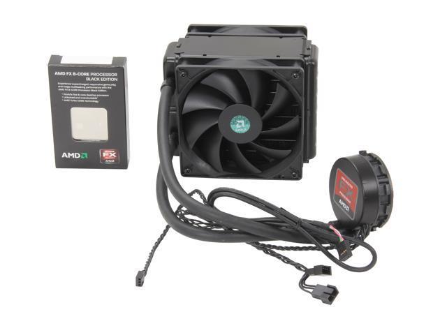 AMD FX-8150 Eight-Core Processor w/Liquid Cooling Kit| MSI 970A-G46 AM3+ Motherboard| Kingston DDR3 8GB Memory| ATI Workstation Video Card| Rosewill ATX Mid Tower w/500W PSU SuperCombo