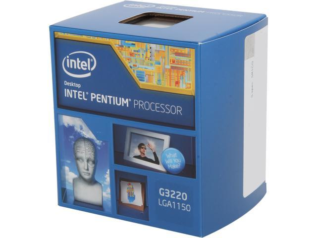 Intel Pentium G3220 Haswell 3.0GHz LGA 1150 54W Dual-Core Desktop Processor Intel HD Graphics BX80646G3220